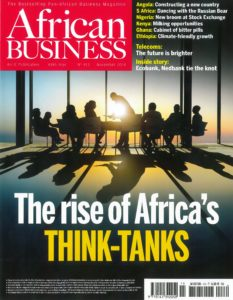 African Business Magazine - Couv