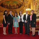 Lauréats du Choiseul 100 Africa et Pascal Lorot - Sénat
