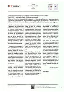 scan L'opinion